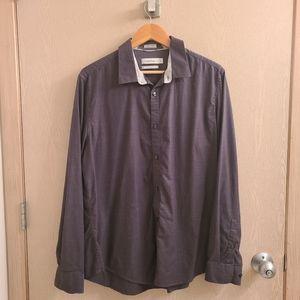 Calvin Klein Liquid Cotton Men's Dress Shirt